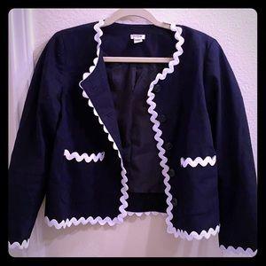 Jcrew blue blazer